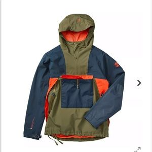 Men's waterproof pullover jacket timberland size S